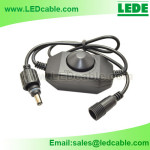 DC-22: LED Dimmer Switch with Waterproof Locking DC Connectors