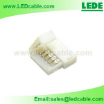 LSW-25: Easy Plastic Solderless RGBW Strip Connector
