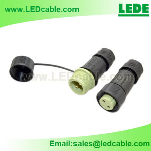 LWC-20: IP68 Waterproof Cable Connector with Protective Cap