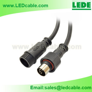 WDC-15:Waterproof DIN Connector Cable