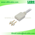 LSW-28:LED Flexible Strip 2PIN Connection Cable
