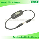 DC-27:DC Power Cable with Slide Type Inline Switch