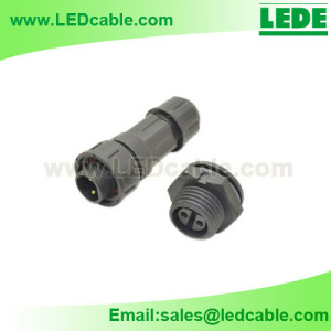 LWC-22:IP68 Waterproof Panel Mount Connector