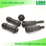 Outdoor LED Lighting System Waterproof Connection Solution