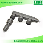 WDC-17:Waterproof Box Distributor Cable For Outdoor LED Lighting