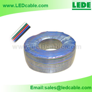 LSW-B7: Bulk RGBW Cable for RGBW LED Strip