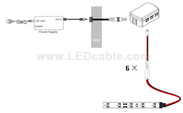 LED Junction Box for interior LED Lighting Application-drawing
