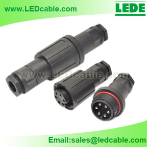 LWC-25: Waterproof Cable Connector, Screw Type