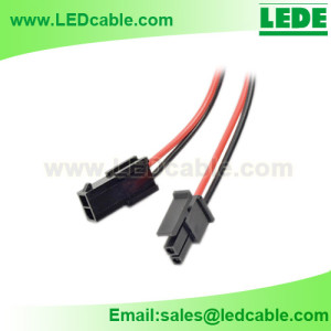 LSW-30: Molex 2 PIN Connector Cable Pigtail