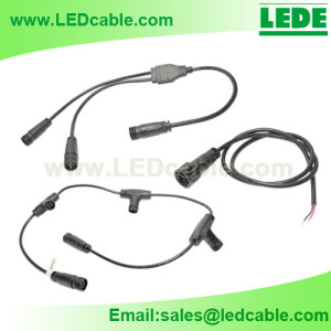 Waterproof Connector Cable Connection System – Series connection