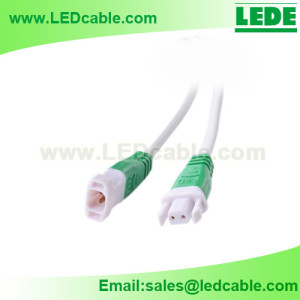 DC-35: 2 PIN Lock Design Connector Cable for LED Lights
