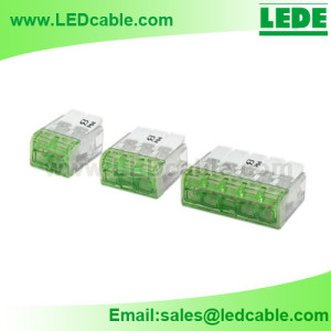 LTB-19: Pushwire Junction Connector For LED Lighting