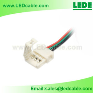 LSW-35: 3PIN Solderless Connector Cable for 10mm LED Strip Light