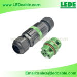 LWC-29: Mini IP68 Waterproof  Inline Cable Connector