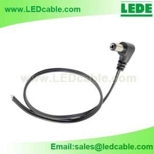 DC-38: Right Angle DC Power Cable Pigtail