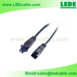 LSW-36: 2 PIN JST SM Overmoled Connector Cable Pigtail