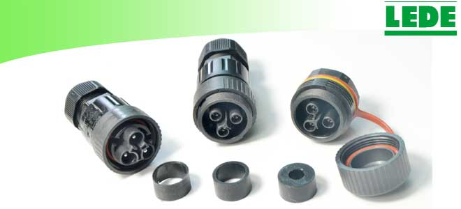 IP68 Waterproof Connector screw type