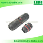 LWC-30: Mini Waterproof Cable Connector Screw Type