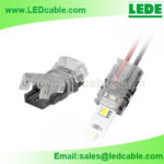LSC-07: Solderless Wire to LED Strip Joint Quick Splice Connector For LED Lighting