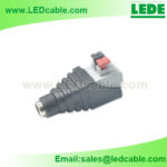 DCC-02D: New DC Female Connector For LED lighting