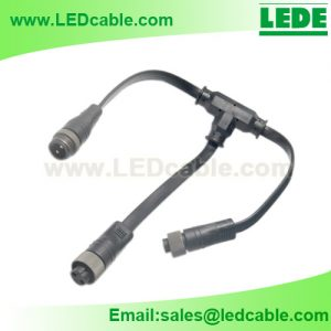 WDC-24: Flat Waterproof Cable – T Connection