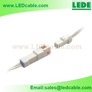 LSW-38: Waterproof JWPF Connector Wires For LED Ligths
