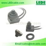 DC-42 Push Button Waterproof Switch with Rubber Seal
