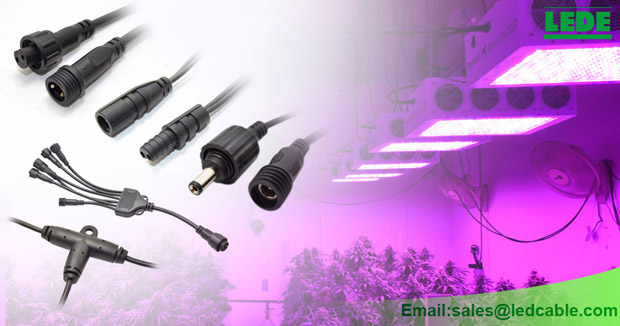 Full Waterproof Cable Solution For LED Grow Lights