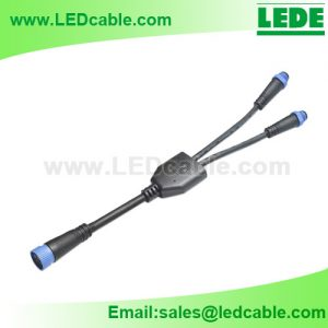 WDC-26 Waterproof Splitter Cable for For LED Area and Roadway Lights
