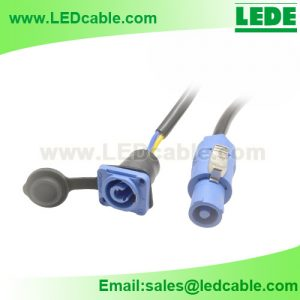 WDC-29: Waterproof Power Connector Cable