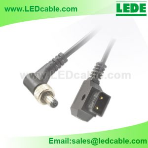 DC-46: D-Tap to 2.1mm Locking DC Power Cable