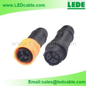 LWC-40: Quick Lock Waterproof Cable Connector