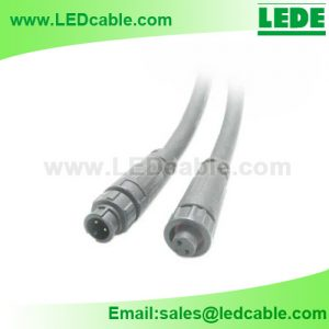 WDC-35: Quick Lock Type M8 Waterproof Connector Cable