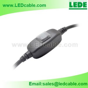 WDC-36: Waterproof Inline Switch Cable Assembly