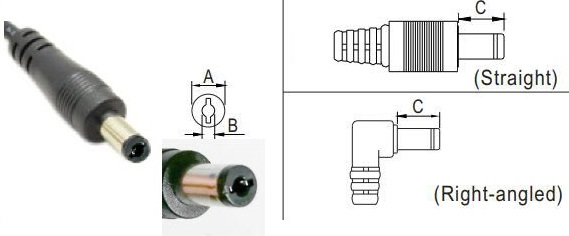 Tuning Fork Style DC Connector