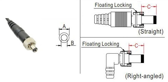 Lock Style DC Connector