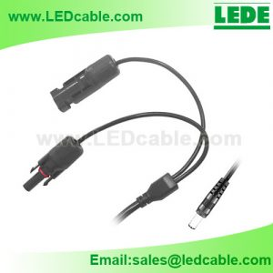 DC-48: MC4 to DC Plug Cable for Solar Panel Power System