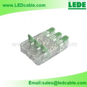 LTB-27: 2 Way Lever-Nut Wire Connector for LED Lighting