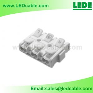 LTB-28: Compact Screwless Push Wire Connector – Slim Version